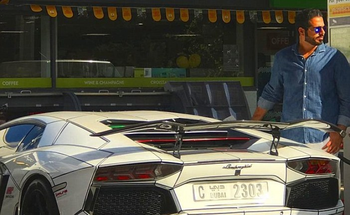 Emirati millionaire's luxury 'white bull' Lamborghini turns up in Poland after it was stolen while being shipped to London from Cannes