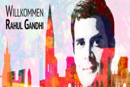 Rahul discusses Kerala floods with German Minister in Hamburg