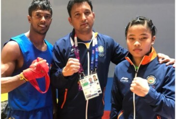 Iran's Wushu player displays sportsmanship by helping India's injured Surya Singh