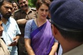 UPmeinJungleRaj Trends After Police Detain Priyanka Gandhi