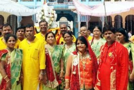 Satsang Samiti members visit Rani Sati Dadi shrine in Jhunjhunu, Rajasthan