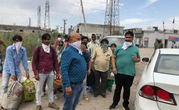 Inspired by Sonu Sood, Jalandhar businessman Raman Kumar sends stranded labourers home